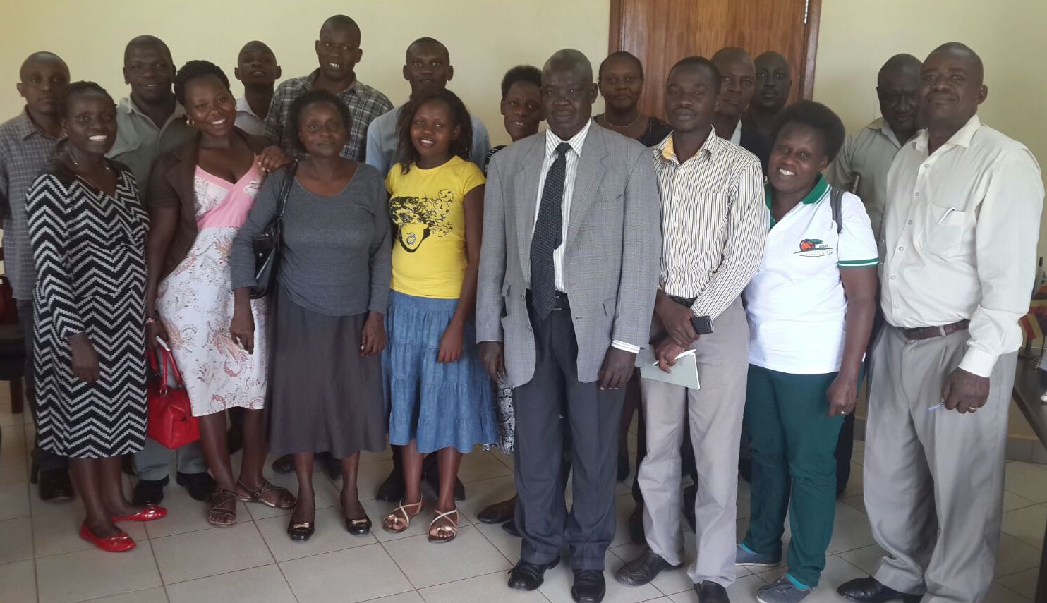 CTCA & RAN team with Hoima District Leaders at the district Headquarters