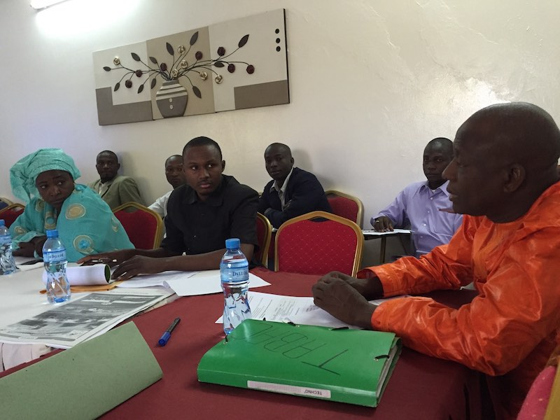 Participants during the Enforcement training in Niger